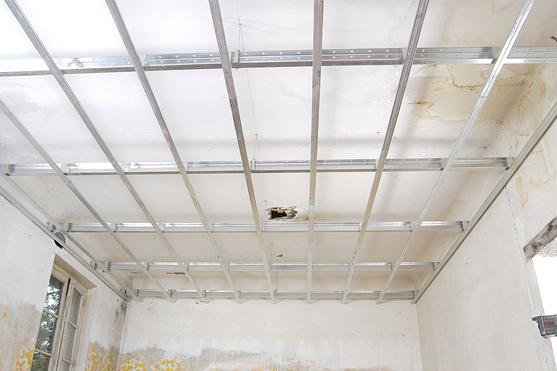 plafond rénovation
