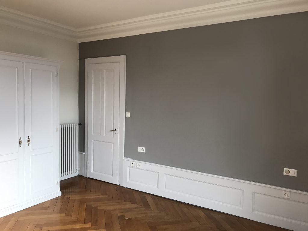 refaire peinture intérieure appartement
