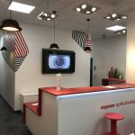 rénovation d'un cabinet ophtalmologue suisse